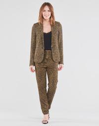 Textiel Dames Losse broeken / Harembroeken Ikks BS22085-75 Bruin