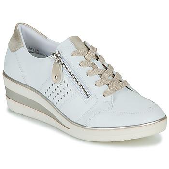 Schoenen Dames Lage sneakers Remonte Dorndorf DORA Wit / Goud