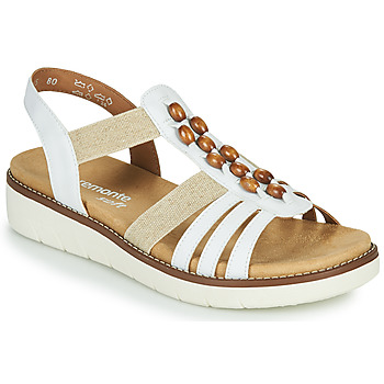 Schoenen Dames Sandalen / Open schoenen Remonte Dorndorf GRISSA Wit / Grijs