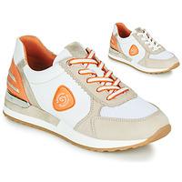 Schoenen Dames Lage sneakers Remonte Dorndorf POLLUX Wit / Grijs / Oranje