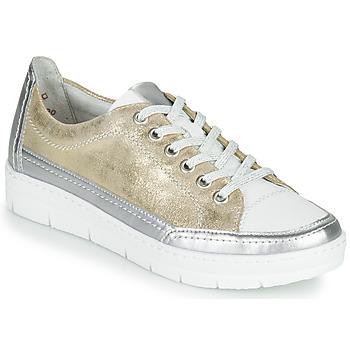 Schoenen Dames Lage sneakers Remonte Dorndorf PHILLA Goud / Zilver