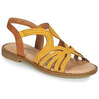 Schoenen Dames Sandalen / Open schoenen Remonte Dorndorf SANDA Geel / Bruin