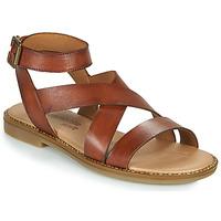 Schoenen Dames Sandalen / Open schoenen Remonte Dorndorf POLLY Bruin