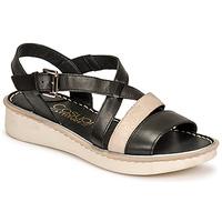 Schoenen Dames Sandalen / Open schoenen Casual Attitude ODETTE Zwart / Goud