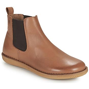 Schoenen Dames Laarzen Casual Attitude ODILETTE Camel