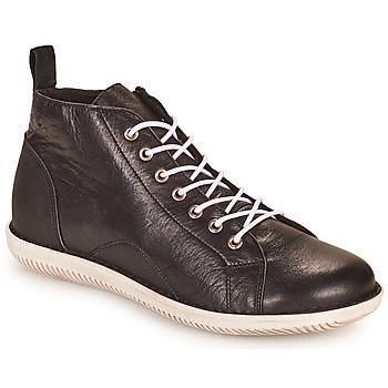 Schoenen Dames Laarzen Casual Attitude OUETTE Zwart
