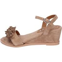 Schoenen Dames Sandalen / Open schoenen Adriana Del Nista Sandali Camoscio Marrone