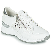 Schoenen Dames Lage sneakers Rieker GRAMI Wit