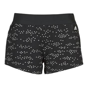 Textiel Dames Korte broeken / Bermuda's adidas Performance W WIN Short Zwart