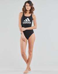 Textiel Dames Badpak adidas Performance SH3.RO BOS S Zwart