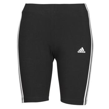 Textiel Dames Leggings adidas Performance W 3S BK SHO Zwart