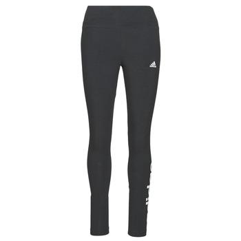 Textiel Dames Leggings adidas Performance W LIN LEG Zwart