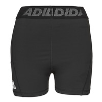 Textiel Dames Korte broeken / Bermuda's adidas Performance TF SHRT 3 BAR T Zwart