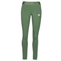 Textiel Dames Leggings adidas Performance W 3S LEG Groen