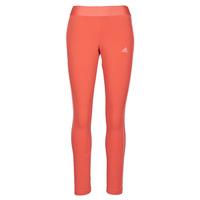 Textiel Dames Leggings adidas Performance W 3S LEG Rood