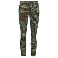 Textiel Dames Leggings adidas Performance W CAMO 78 LEG Groen