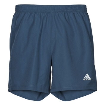 Textiel Heren Korte broeken / Bermuda's adidas Performance RUN IT SHORT Blauw