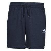Textiel Heren Korte broeken / Bermuda's adidas Performance M 3S FT SHO Blauw