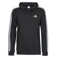 Textiel Heren Sweaters / Sweatshirts adidas Performance M 3S FL HD Zwart