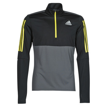Textiel Heren Sweaters / Sweatshirts adidas Performance OWN THE RUN 1/2 Grijs