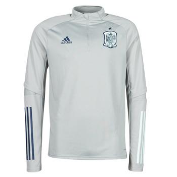 Textiel Heren T-shirts korte mouwen adidas Performance FEF TR TOP Grijs