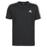 Textiel Heren T-shirts korte mouwen adidas Performance M 3S SJ T Zwart
