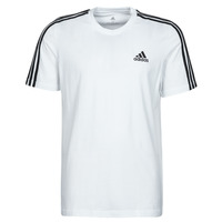 Textiel Heren T-shirts korte mouwen adidas Performance M 3S SJ T Wit