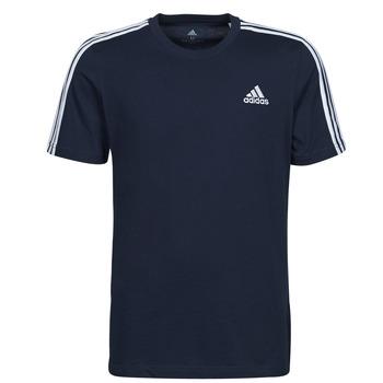Textiel Heren T-shirts korte mouwen adidas Performance M 3S SJ T Blauw