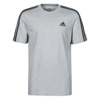 Textiel Heren T-shirts korte mouwen adidas Performance M 3S SJ T Grijs