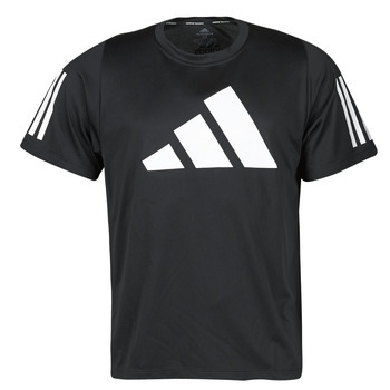 Textiel Heren T-shirts korte mouwen adidas Performance FL 3 BAR TEE Zwart