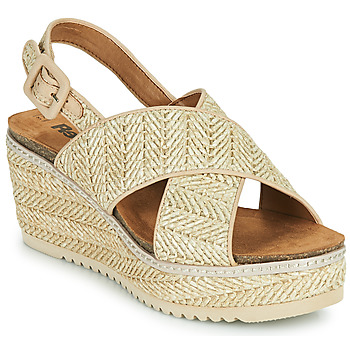 Schoenen Dames Sandalen / Open schoenen Refresh AMELA Beige