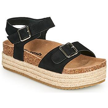Schoenen Dames Sandalen / Open schoenen Refresh KINNA Zwart