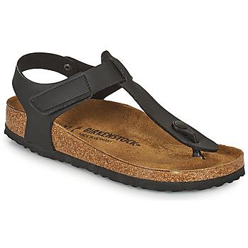 Schoenen Kinderen Teenslippers Birkenstock KAIRO HL Zwart
