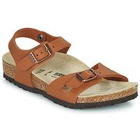 Schoenen Meisjes Sandalen / Open schoenen Birkenstock RIO Bruin