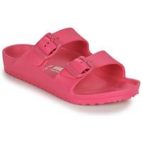 Schoenen Meisjes Leren slippers Birkenstock ARIZONA EVA Roze