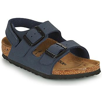 Schoenen Jongens Sandalen / Open schoenen Birkenstock MILANO HL Blauw