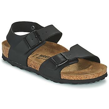 Schoenen Jongens Sandalen / Open schoenen Birkenstock NEW YORK Zwart