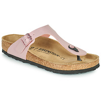 Schoenen Dames Teenslippers Birkenstock GIZEH Roze