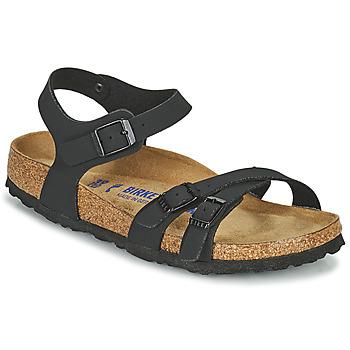 Schoenen Dames Sandalen / Open schoenen Birkenstock KUMBA SFB Zwart
