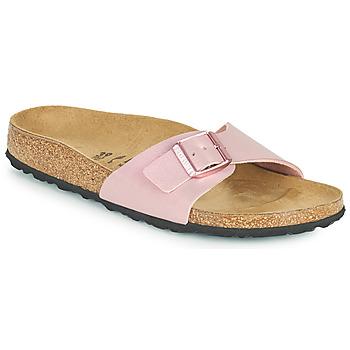 Schoenen Dames Leren slippers Birkenstock MADRID Violet