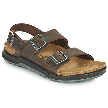 Schoenen Heren Sandalen / Open schoenen Birkenstock MILANO CT Bruin