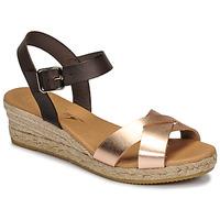 Schoenen Dames Sandalen / Open schoenen Betty London GIORGIA Bruin / Nude