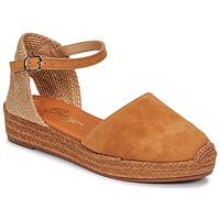 Schoenen Dames Sandalen / Open schoenen Betty London ANTALA Cognac