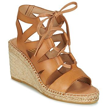 Schoenen Dames Sandalen / Open schoenen Betty London OTANA Camel