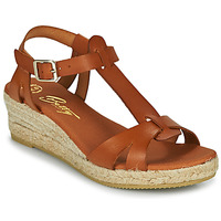 Schoenen Dames Sandalen / Open schoenen Betty London OBORSEL Cognac