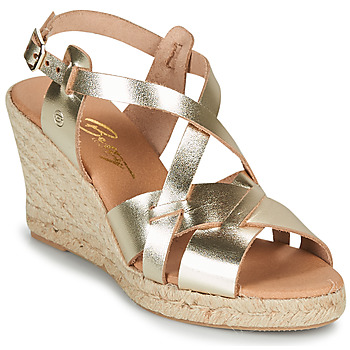 Schoenen Dames Sandalen / Open schoenen Betty London OSAVER Goud