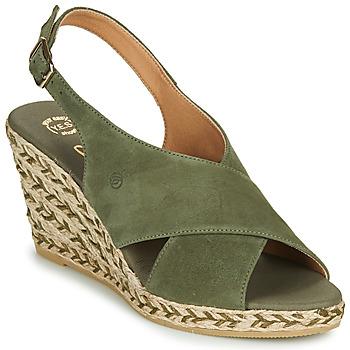 Schoenen Dames Sandalen / Open schoenen Betty London OHINDRA Kaki