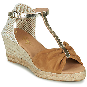 Schoenen Dames Sandalen / Open schoenen Betty London OREINOA Camel
