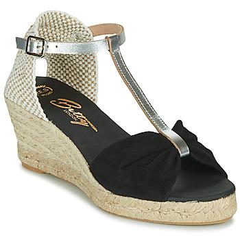 Schoenen Dames Sandalen / Open schoenen Betty London OREINOA Zwart