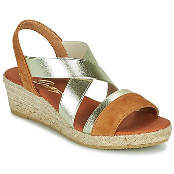 Schoenen Dames Sandalen / Open schoenen Betty London OLINDRE Cognac